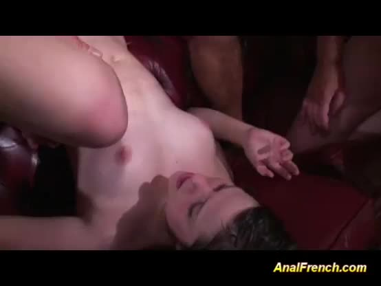 French arab gang bang and anal toy first time i think she li