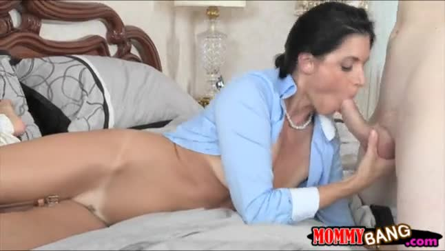 Curvaceous milf india summer caught her stepdaughter fucking with her bf