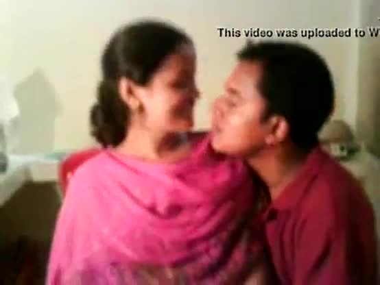 Hot indian teen couple enjoying home made sex